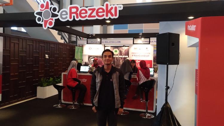 Darwish peserta eRezeki Kelantan