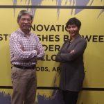 Tuan Razif COO CRADLE dan Puan Sumitra MDEC