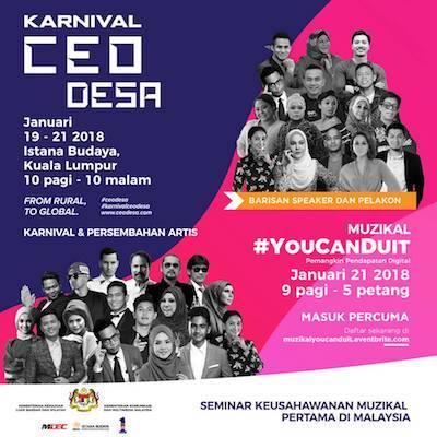 #YOUCANDUIT Kuala Lumpur 2018 & Karnival CEO DESA