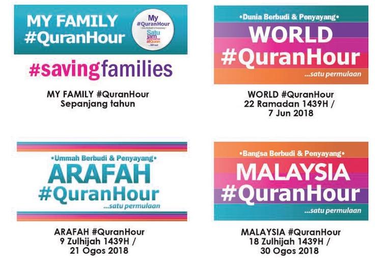 Kempen QuranHour sepanjang tahun