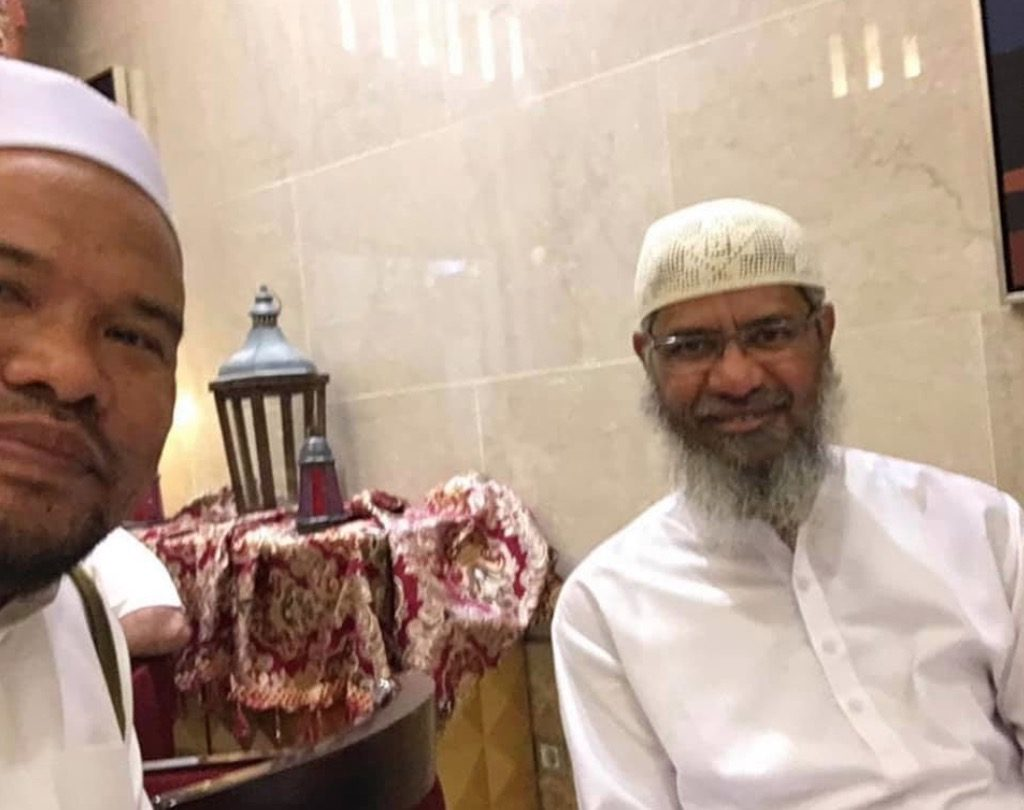 selfie bersama Dr Zakir Naik