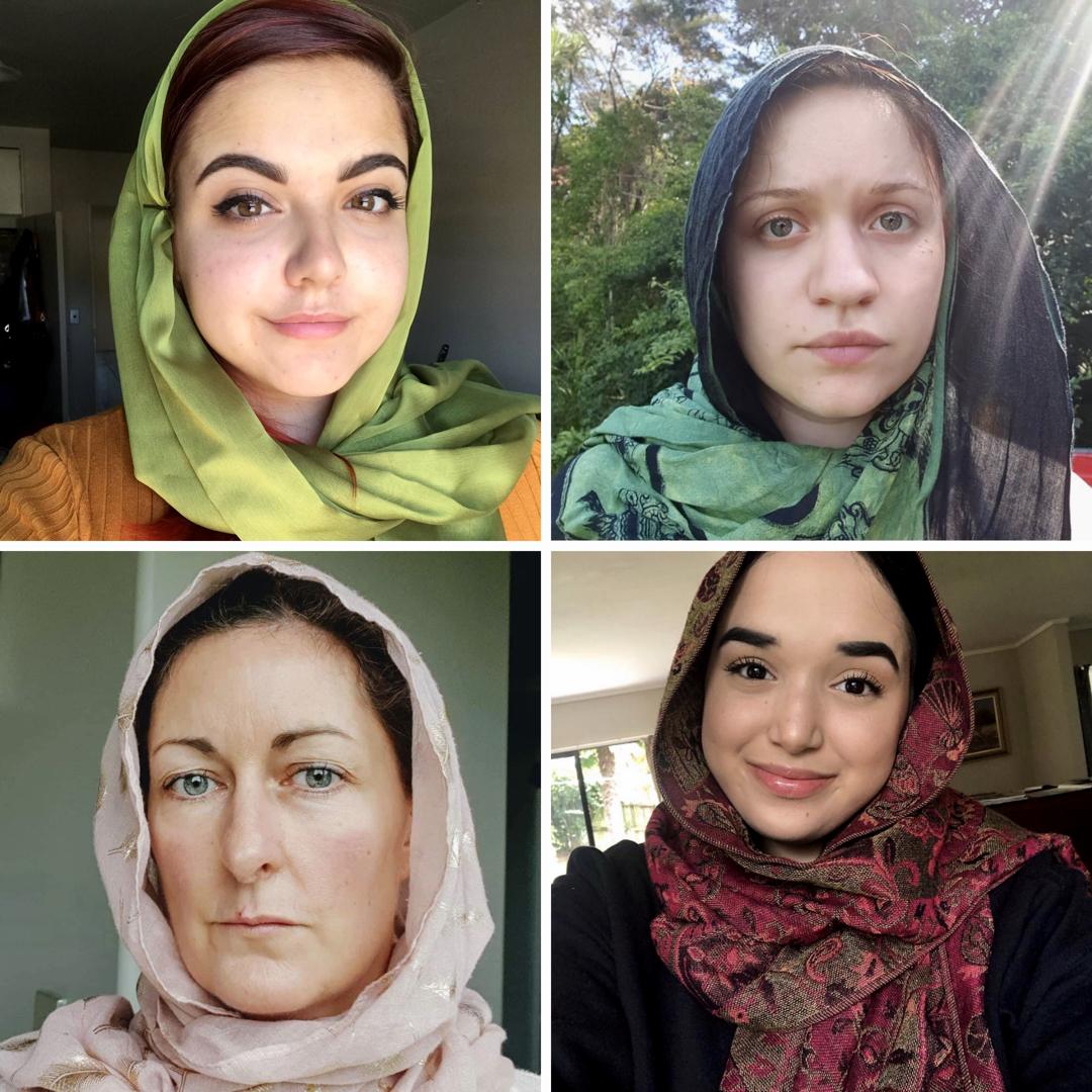 Sebagai tanda sokongan pada muslim, ribuan wanita Non Muslim New Zealand berhijab di hari Jumaat