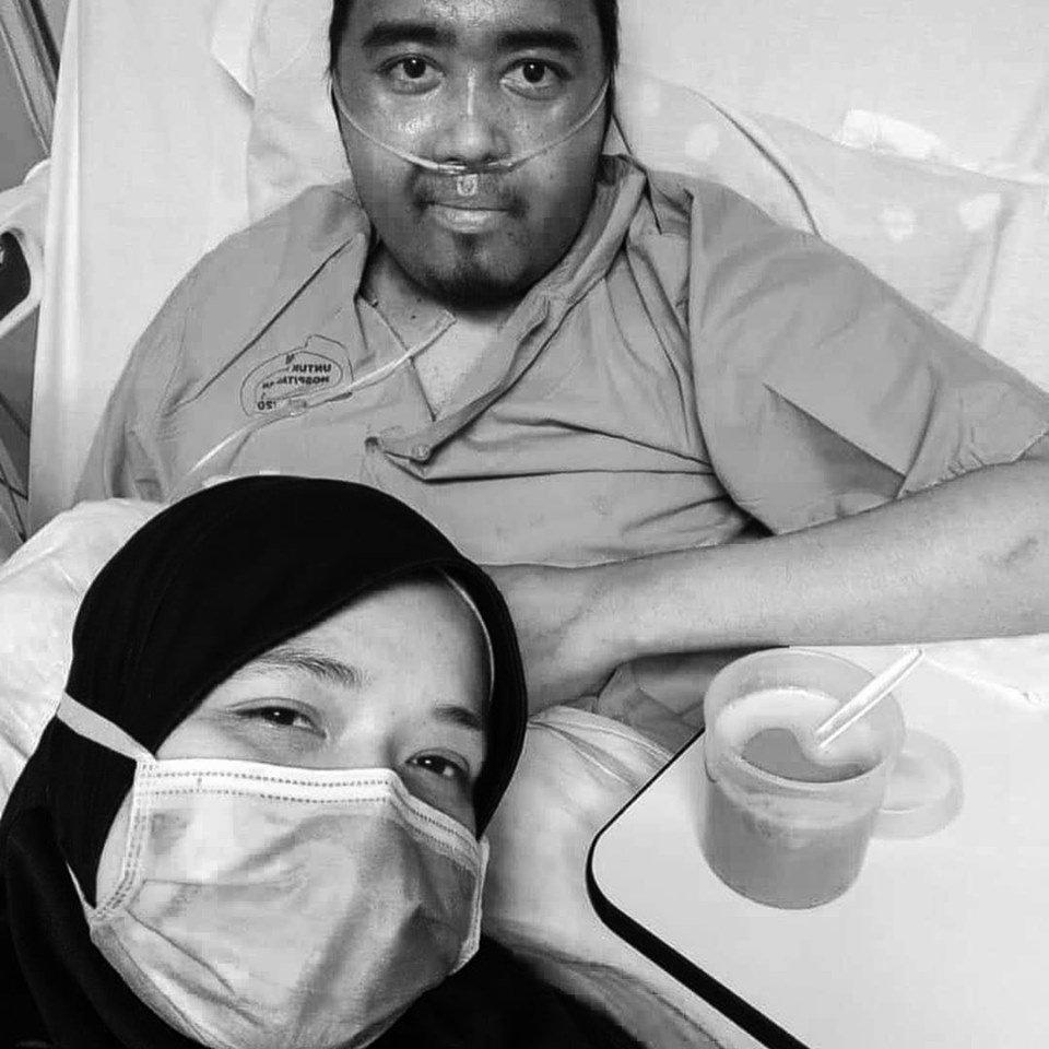 Pesakit kanser limfoma meninggal dunia, Allahyarham Izzudin ambil tempahan nametag khat