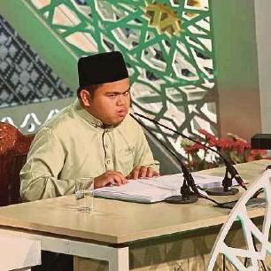 Qari Cacat Penglihatan Johan Tilawah Al-Quran