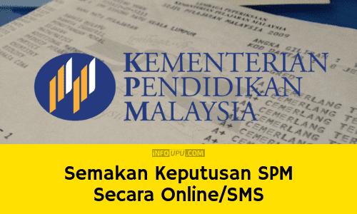 Semakan Keputusan Spm 2015 Online Dan Sms Mobile